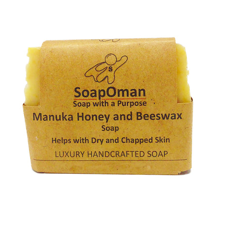 SoapOman - Manuka Honey and Beeswax Soap