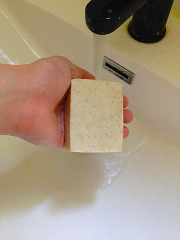SoapOman naked Oatmeal Good for Psoriasis and Eczema