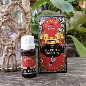 Good Earth Scents - Success and Prosperity Essential Oil Blend
