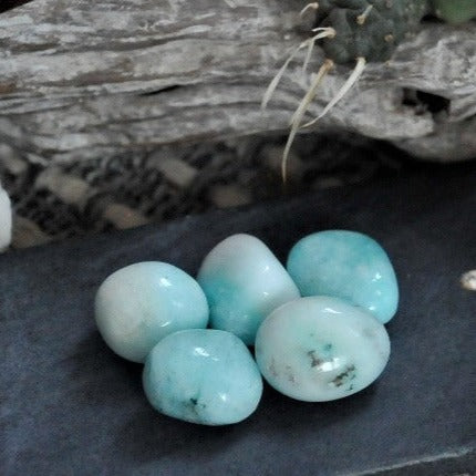 Blue Aragonite - Empathy and Emotional Calm