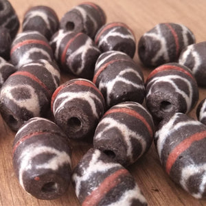 Vintage African Sandcast Beads