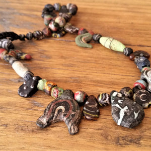 Ancient Beads - Roman Period with Egyptian & Islamic influences.