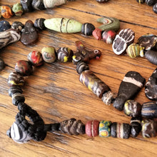 Load image into Gallery viewer, Ancient Beads - Roman Period with Egyptian & Islamic influences.