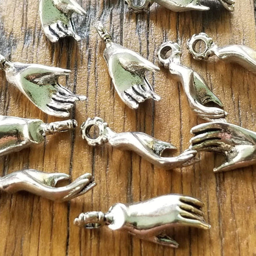 Open Hand Charms