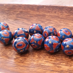 Porcelain Hand Painted Beads