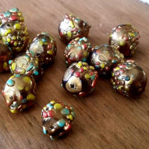 Vintage Japanese Glass  Beads