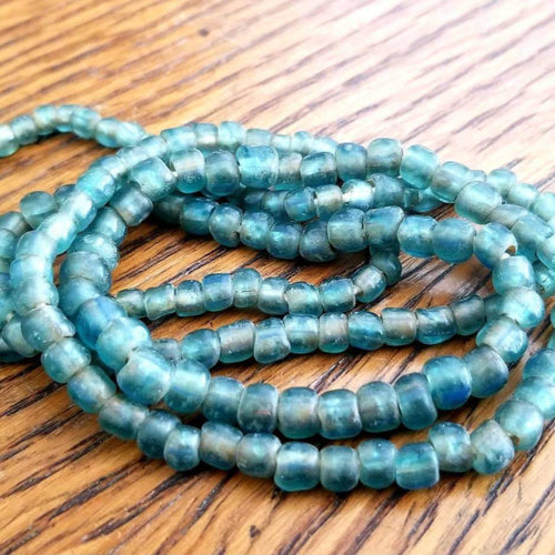 Indo-Pacific Blue Glass Beads