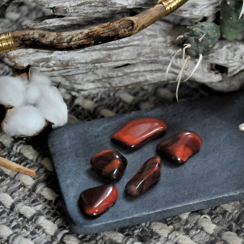 Red Tiger Eye - Stone of Protection