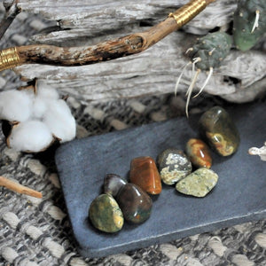 Rain Forest Jasper -  Deepening Connections with Earth