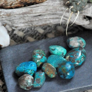 Chrysocolla  - Serenity Tranquility and Peace
