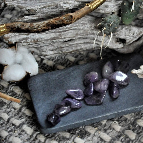 Chevron Amethyst -  Enhancing Intuition