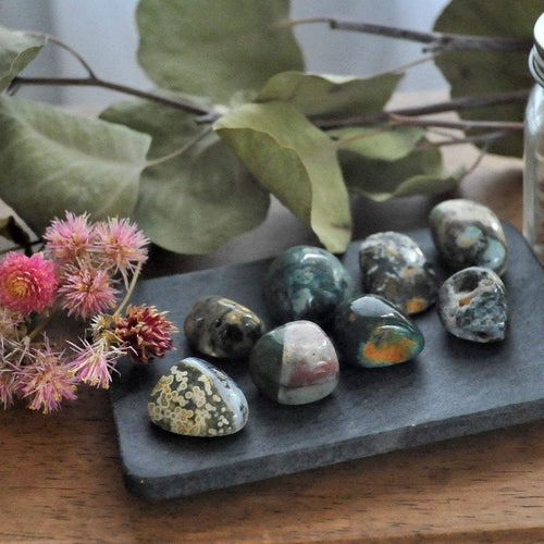 Ocean Jasper - Stress Relief and Tranquility