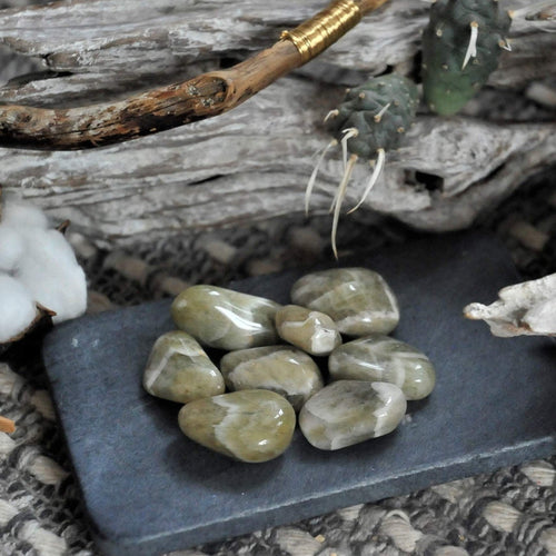 Prasiolite Green Amethyst - Love, Intuition and Creativity