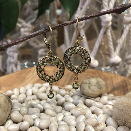 Earrings - Filigree and Jewel