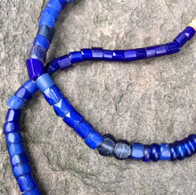 Load image into Gallery viewer, Antique Cobalt Glass Beads