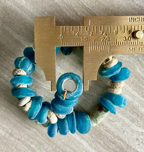 Ancient Blue Glass & Faience Beads