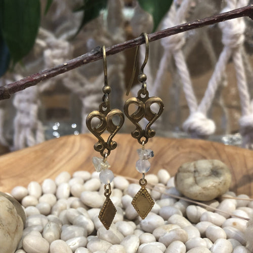 Earrings - Quartz Crystal
