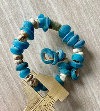 Load image into Gallery viewer, Ancient Blue Glass & Faience Beads