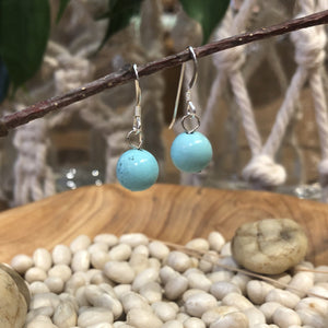 Earrings - Sterling Silver and Turquoise