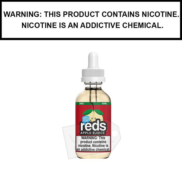 7 Daze Reds | Apple Iced - eJuice (60ml)