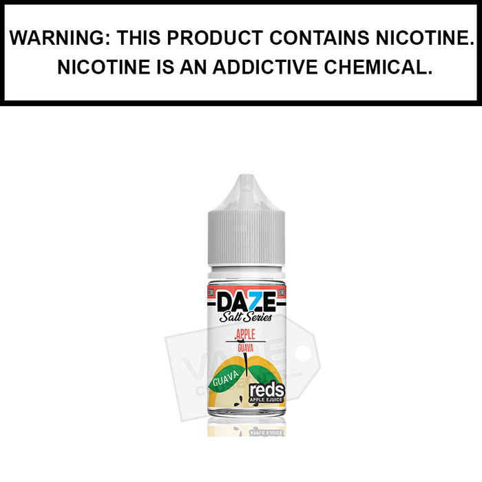 7 Daze Reds | Guava - Nic Salt eJuice (30ml)