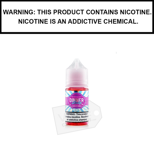 Dinner Lady Salt Series | Blackberry Crumble eJuice (30ml)