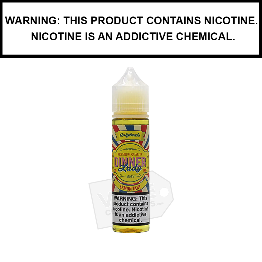 Dinner Lady | Lemon Tart eJuice (60ml)