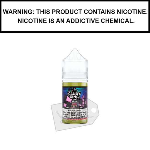 Drip More Candy King | Pink Squares - Nic Salt eJuice (30ml)