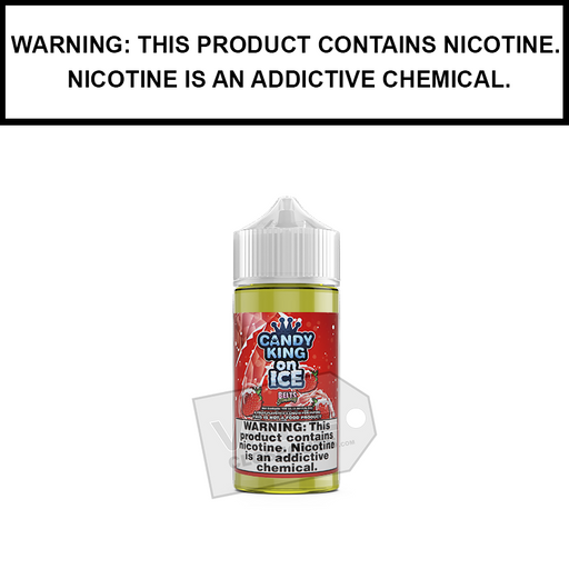 Drip More Candy King | Strawberry Belts on ICE - eJuice (100ml)