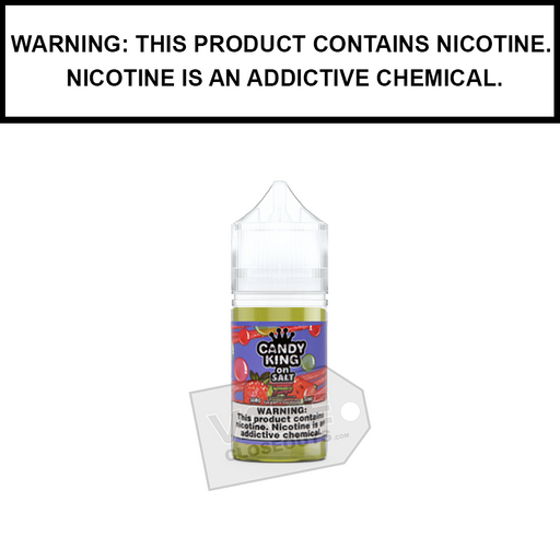 Drip More Candy King | Strawberry Watermelon Bubblegum - Nic Salt eJuice (30ml)