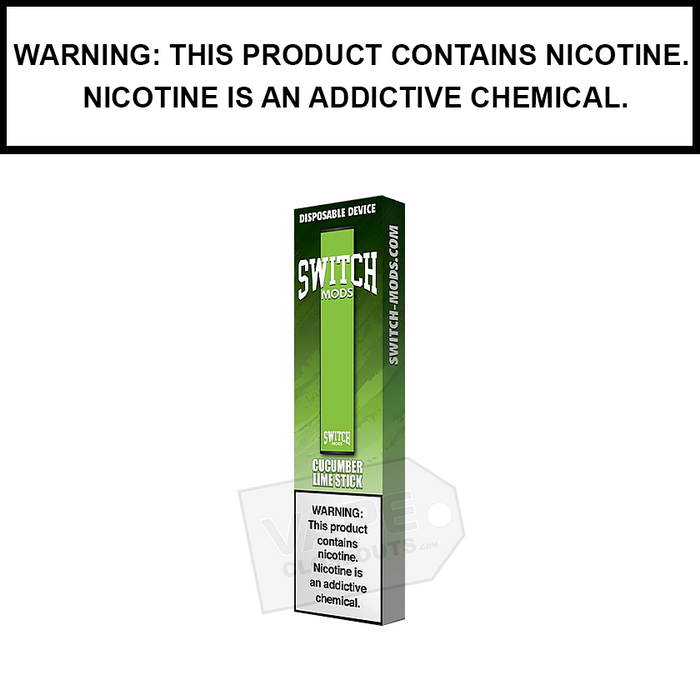Drip More | Switch Mods Disposable Device (10-Pack Deal)  cucumber lime
