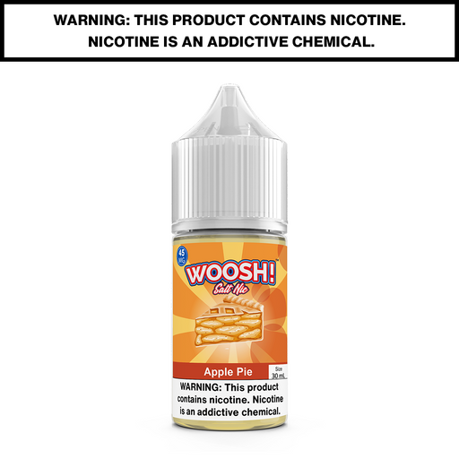 WOOSH - APPLE PIE - 30mL Salted 45mg