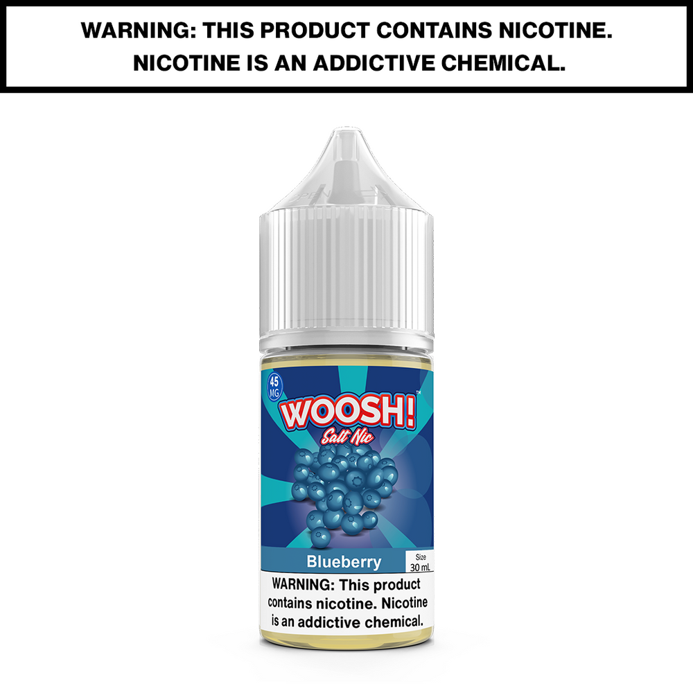 WOOSH - BLUEBERRY - 30mL Salted 45mg