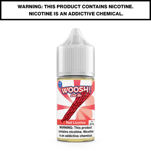 WOOSH - RED LICORICE - 30mL Salted 45mg