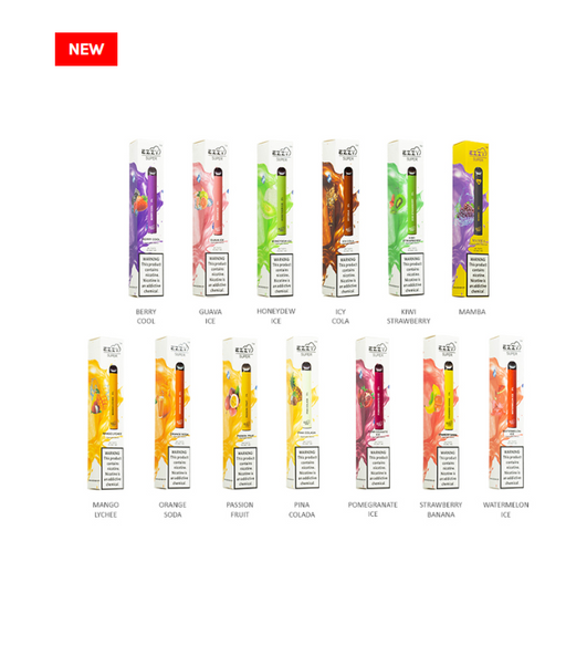 EZZY Super Disposable E-Cigs 5% (5-Pack promo offer)