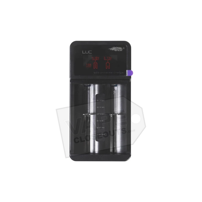 Efest LUC V2 Multi-Function Charger - 2 Bay with LCD Screen