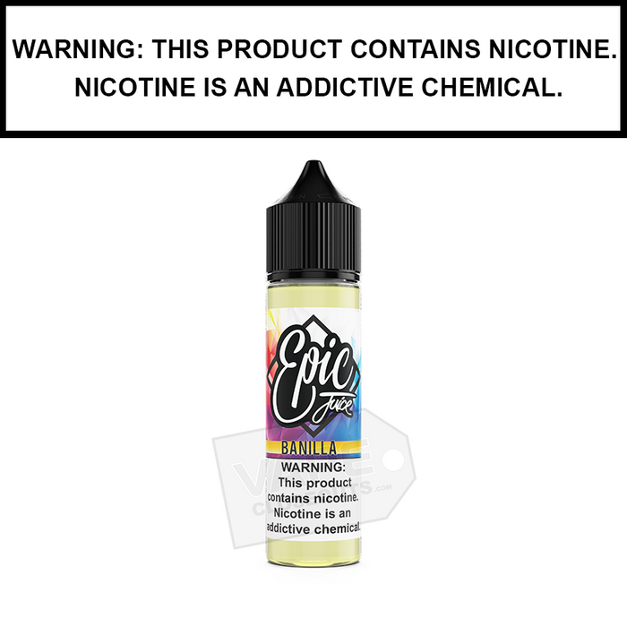 Epic Juice | Banilla - Banana Vanilla Pastry - eJuice (60ml&100ml)