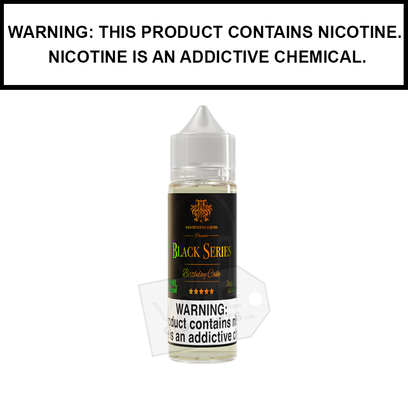 Kilo Black Series | Birthday Cake - eJuice (60ml)
