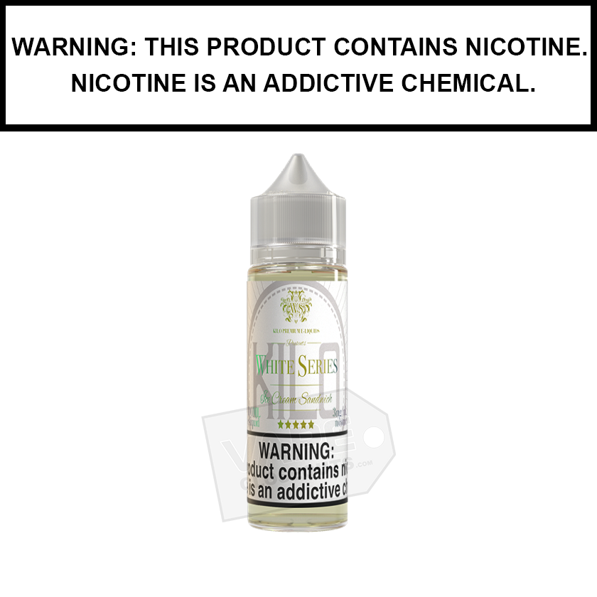 Kilo White Series | Ice Cream Sandwich - eJuice (60ml)