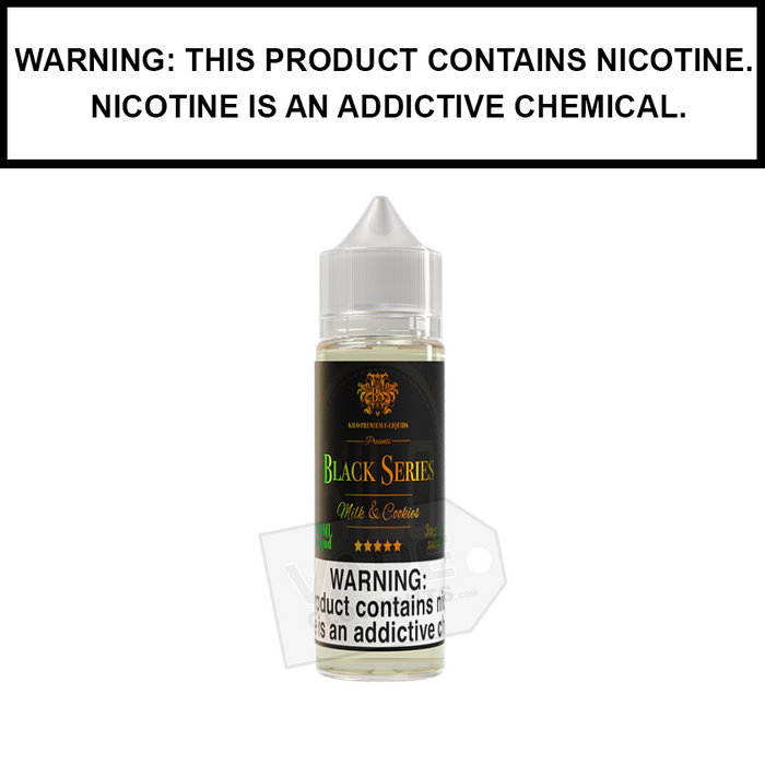 Kilo Black Series | Milk & Cookies - eJuice (60ml)