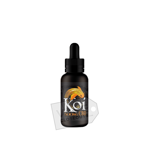 Koi CBD Vape Juice (30ml) Vanilla Caramel Custard (Gold)