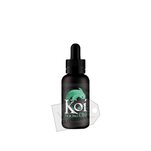 Koi CBD Vape Juice (30mL) Watermelon Green Apple Sour (Jade)