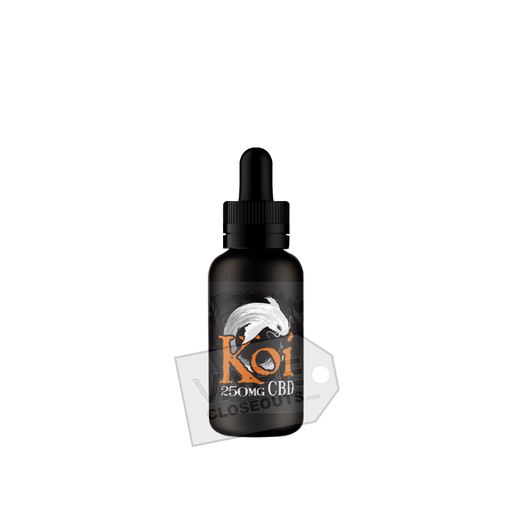 Koi CBD Vape Juice (30ml) Flavorless Additive (White)