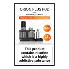 Lost Vape Orion Plus Pod Set (1 Pod + 2 Coils)