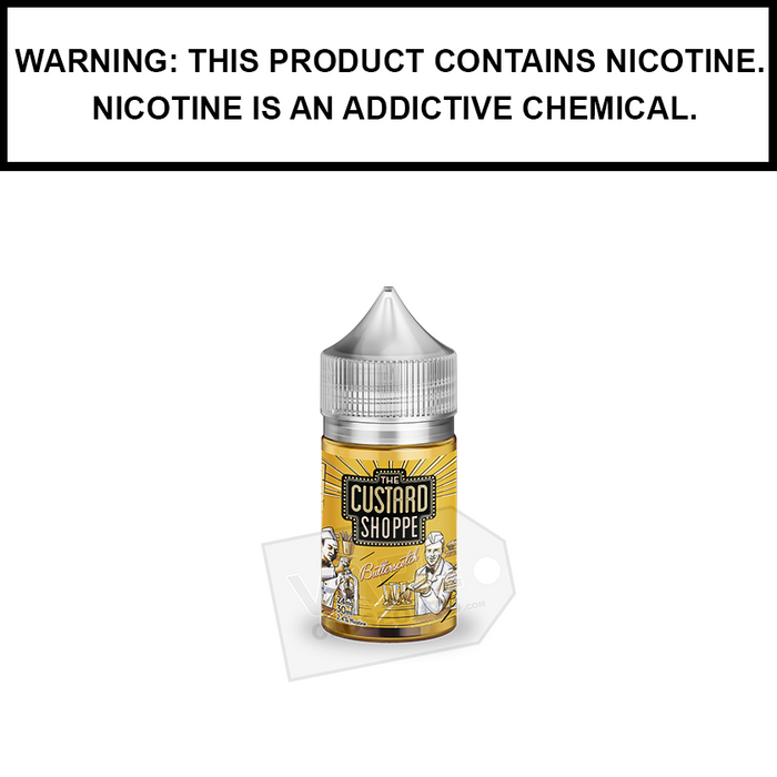 Jam Monster | The Custard Shoppe Butterscotch - Nic Salt eJuice (30ml)