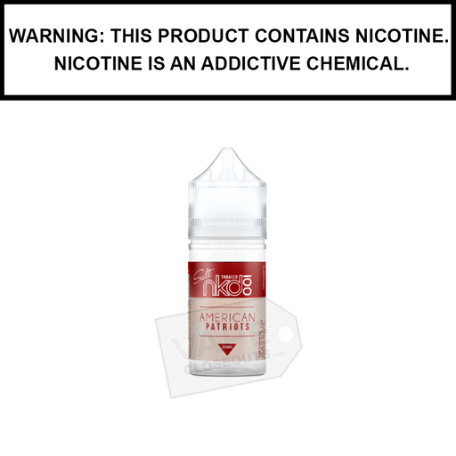 Naked 100 Tobacco | American Patriots - Salt Nic eJuice (30ml)