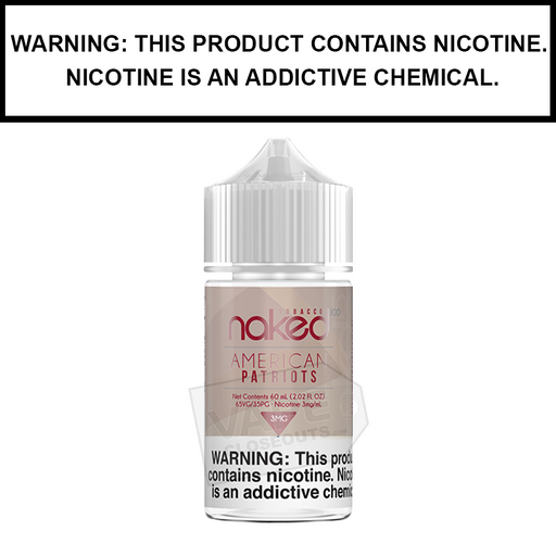 Naked 100 Tobacco | American Patriots - eJuice (60ml)