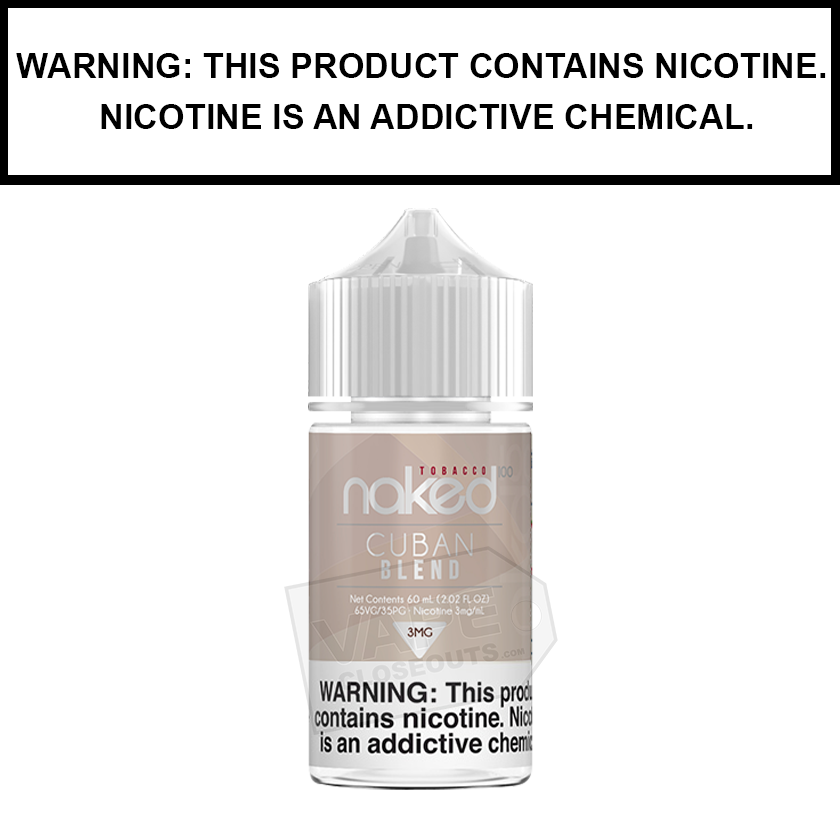 Naked 100 Tobacco | Cuban Blend - eJuice (60ml)