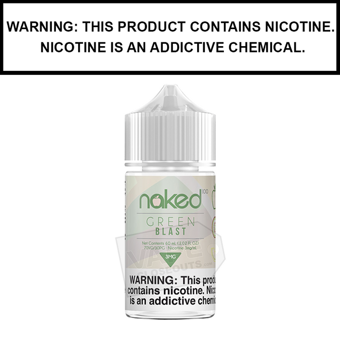 Naked 100 | Green Blast - eJuice (60ml)