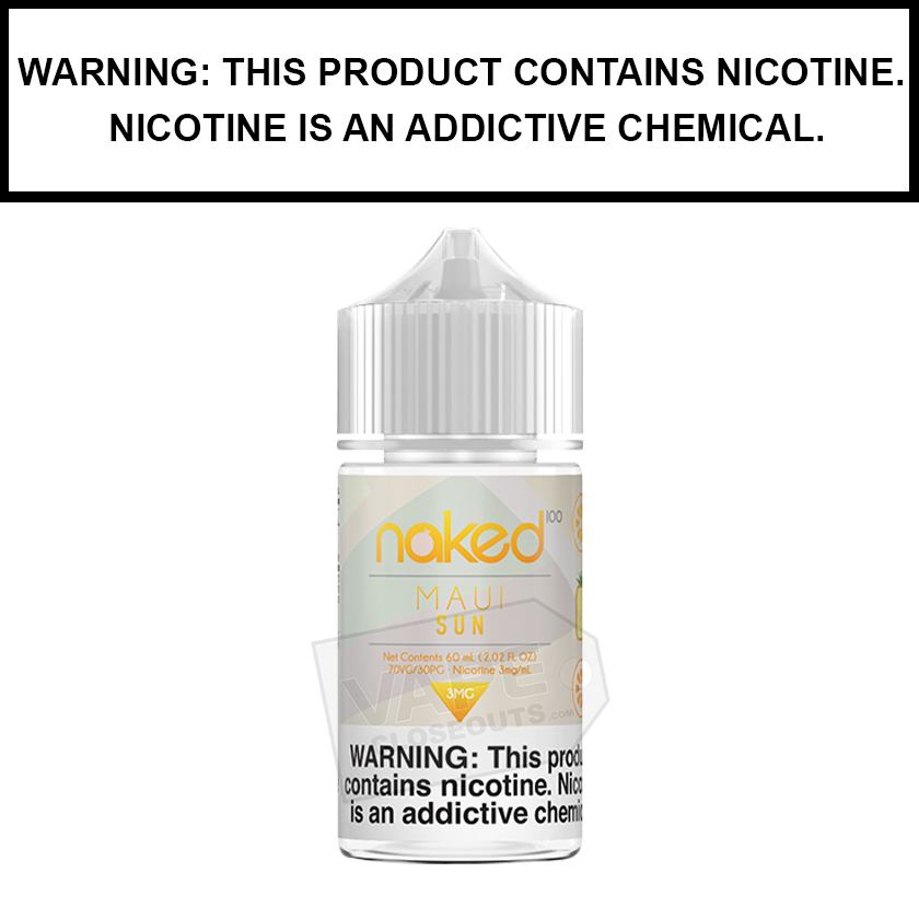 Naked 100 | Maui Sun - eJuice (60ml)